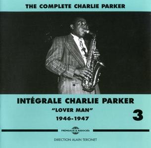 """Charlie Parker - Integrale Charlie Parker, Vol. 3, """"Lover Man"""", 1946-1947 (2011) {3CD Set Frémeaux & Associés FA1333}"""