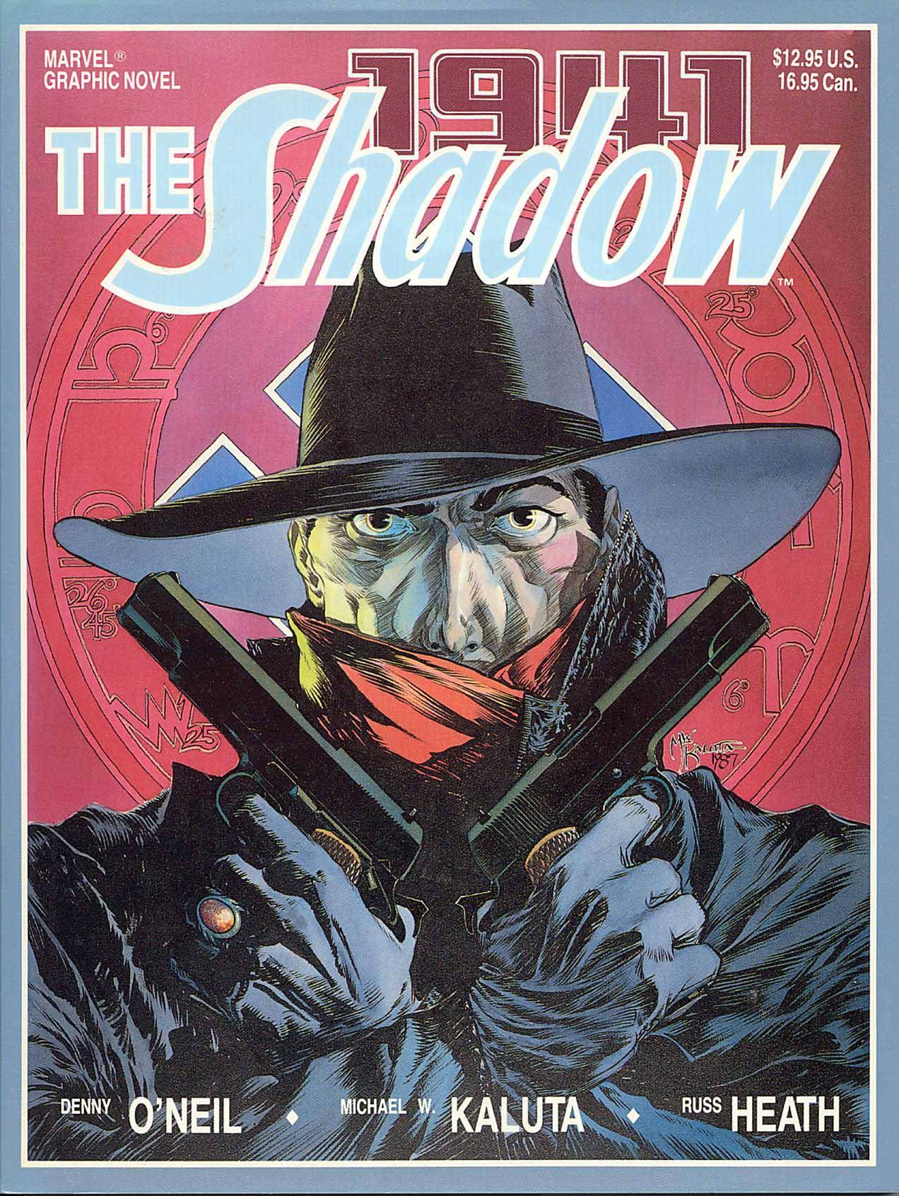 Marvel Graphic Novel 34 - The Shadow - Hitlers Astrologer 1988