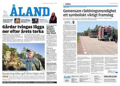 Ålandstidningen – 14 november 2018