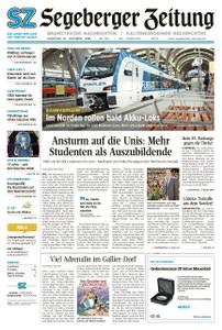 Segeberger Zeitung – 15. Oktober 2019