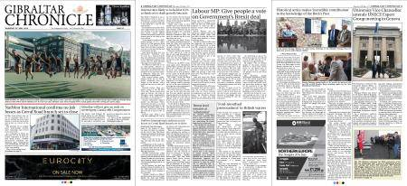 Gibraltar Chronicle – 10 May 2018