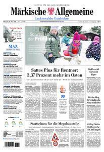 Märkische Allgemeine Luckenwalder Rundschau - 21. März 2018
