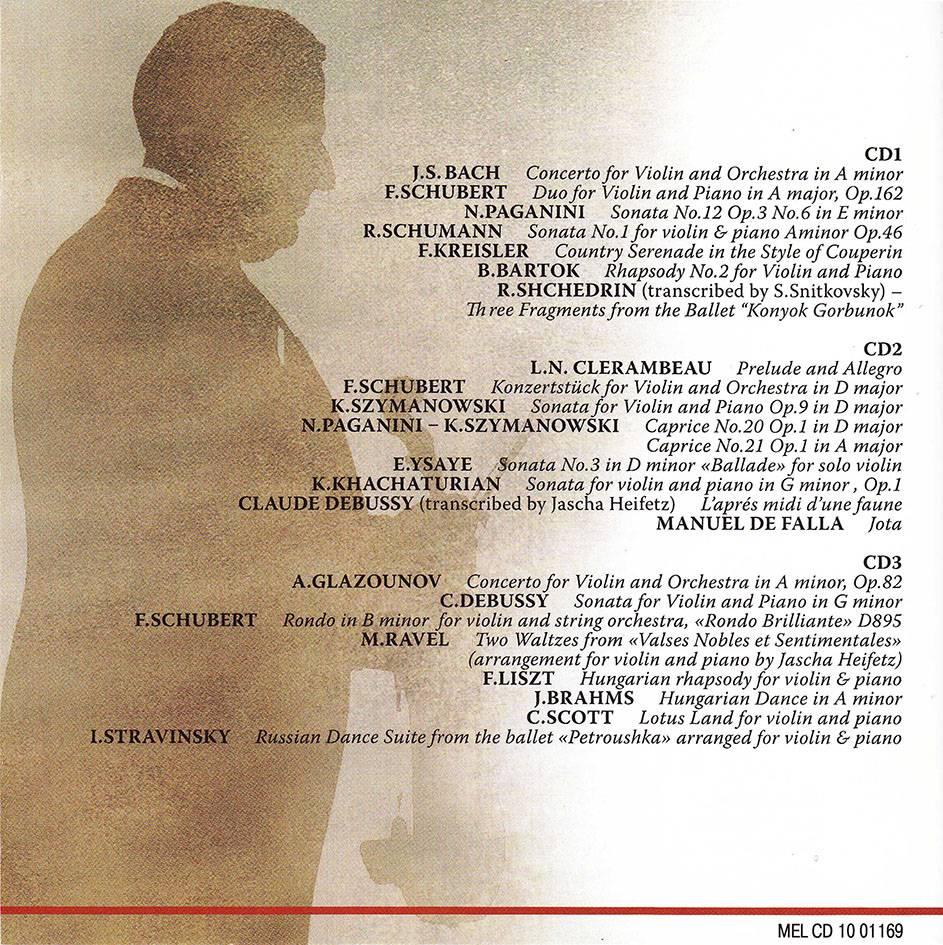 Semyon Snitkovsky - Art Of Semyon Snitkovsky. 75th Anniversary Edition (2008) 3CD Set