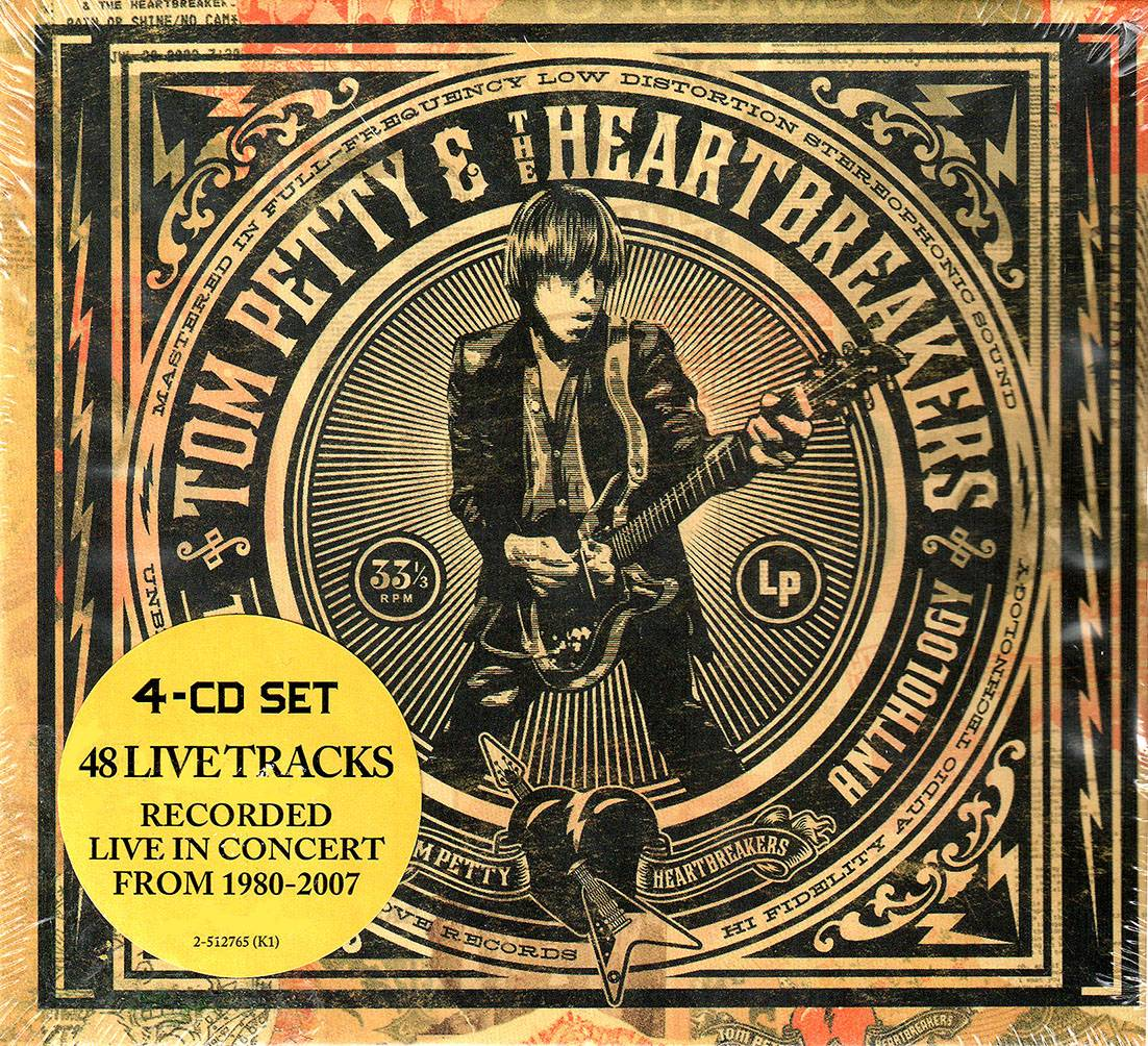 Tom Petty & The Heartbreakers - The Live Anthology (2009) 4CD Box Set [Re-Up]