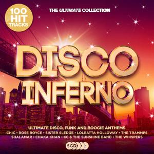 VA - Disco Inferno - The Ultimate Collection (5CD, 2019)
