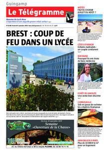 Le Télégramme Guingamp – 06 septembre 2019