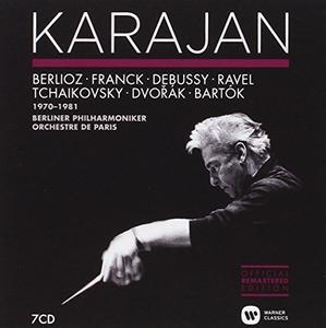 Herbert von Karajan - Berlioz, Franck, Debussy, Ravel, Tchaikovsky, Dvorak, Bartok (1970-1981) (2014)
