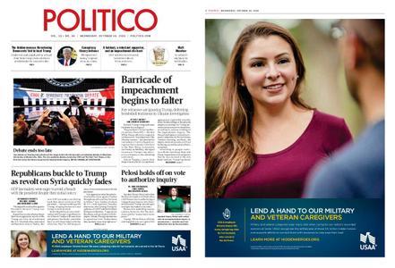 Politico – October 16, 2019