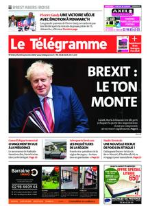 Le Télégramme Brest Abers Iroise – 08 septembre 2020