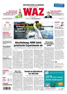 WAZ Westdeutsche Allgemeine Zeitung Buer - 18. April 2019
