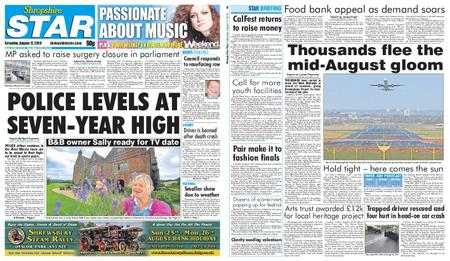 Shropshire Star Shrewsbury Edition – August 17, 2019