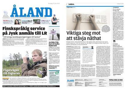 Ålandstidningen – 27 juni 2019