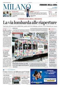 Corriere della Sera Milano – 18 maggio 2020