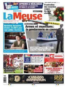 La Meuse - 27 Octobre 2017