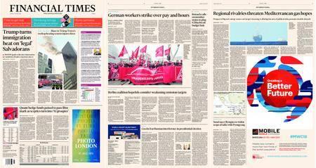 Financial Times Europe – 09 January 2018
