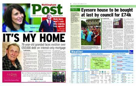 Nottingham Post – September 11, 2017