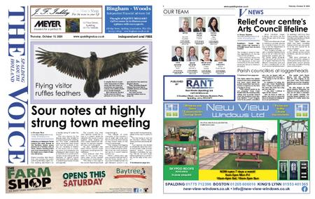 The Spalding & South Holland Voice – October 14, 2020