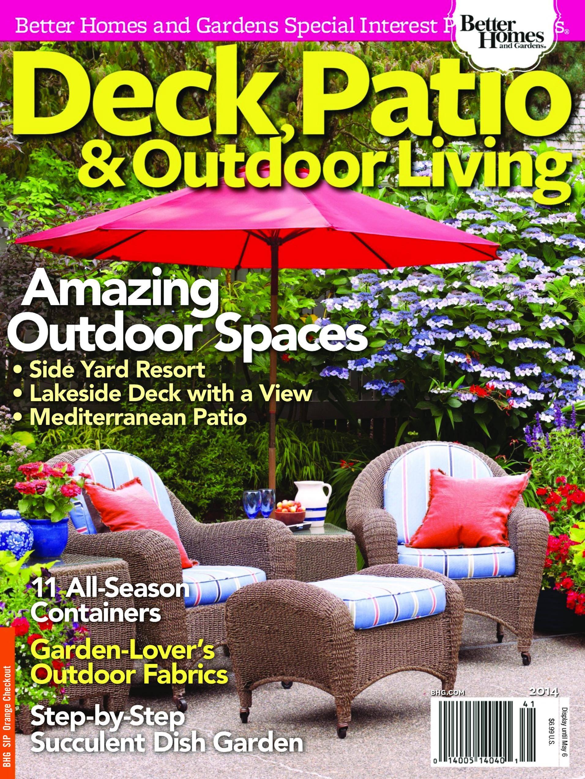 Deck, Patio & Outdoor Living - April 01, 2014