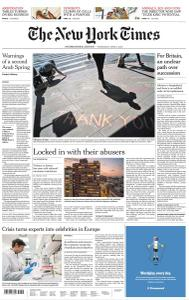 International New York Times - 8 April 2020