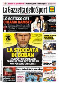 La Gazzetta dello Sport Roma – 04 gennaio 2019