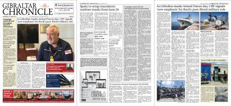 Gibraltar Chronicle – 19 June 2021