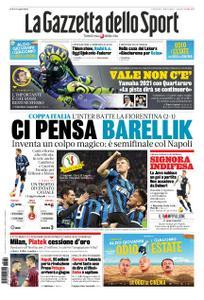 La Gazzetta dello Sport Roma – 30 gennaio 2020