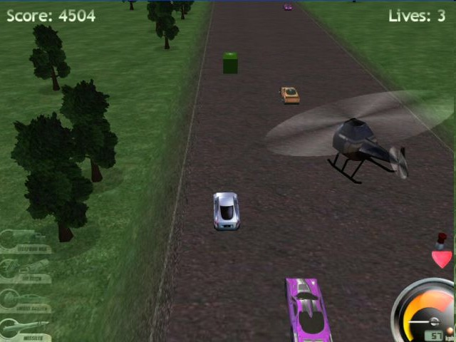 Highway Pursuit (Action-packed 3D Car Racing Game)