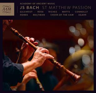 Academy Of Ancient Music, Richard Egarr - Bach: St. Matthew Passion (2015) [Official Digital Download 24bit/96kHz]