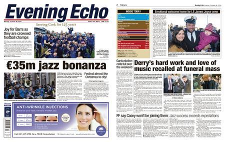 Evening Echo – October 29, 2018