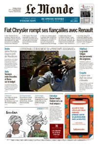 Le Monde du Vendredi 7 Juin 2019