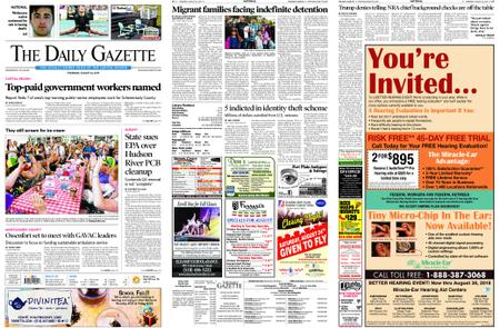 The Daily Gazette – August 22, 2019