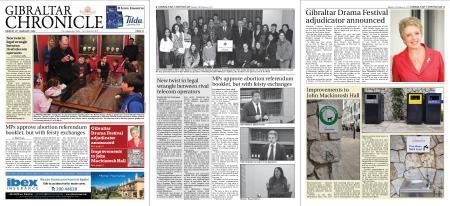 Gibraltar Chronicle – 24 February 2020