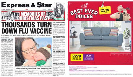 Express and Star City Edition – December 26, 2019
