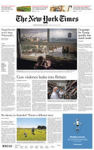 International New York Times - 14 August 2020