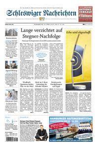 Schleswiger Nachrichten - 26. April 2018