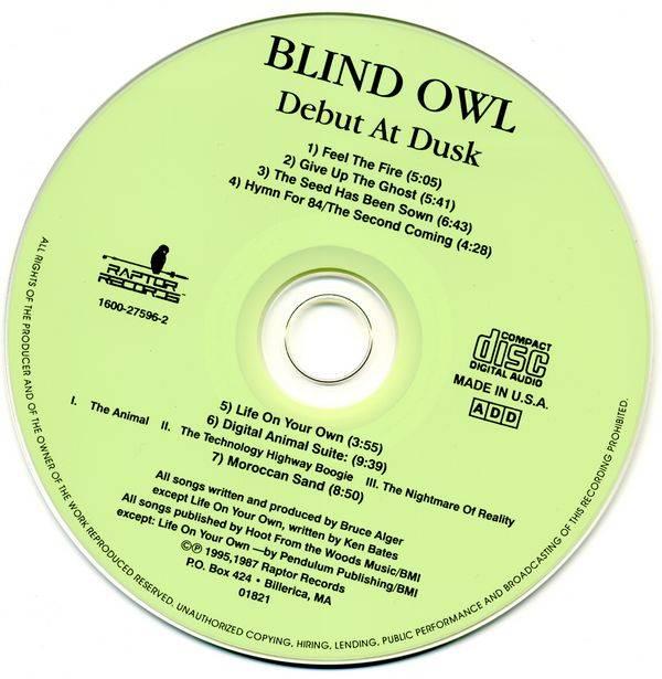 Blind Owl - Debut At Dusk (1987) {1995, Reissue} / AvaxHome