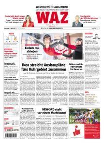 WAZ Westdeutsche Allgemeine Zeitung Oberhausen-Sterkrade - 05. April 2018