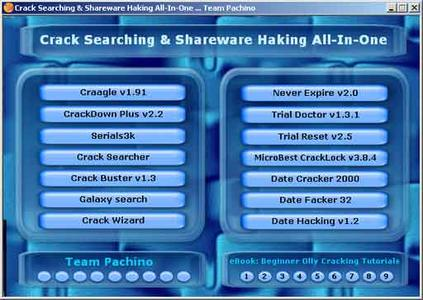 Crack Searching & Shareware Hacking All-In-One
