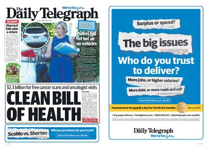 The Daily Telegraph (Sydney) – April 05, 2019