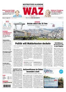 WAZ Westdeutsche Allgemeine Zeitung Oberhausen-Sterkrade - 15. August 2018