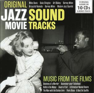 VA - Original Jazz Movie SoundTracks (2018) 10 CD Box Set