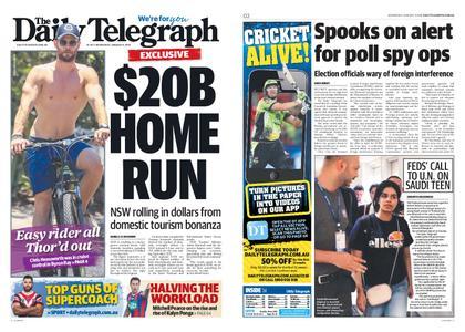 The Daily Telegraph (Sydney) – January 09, 2019