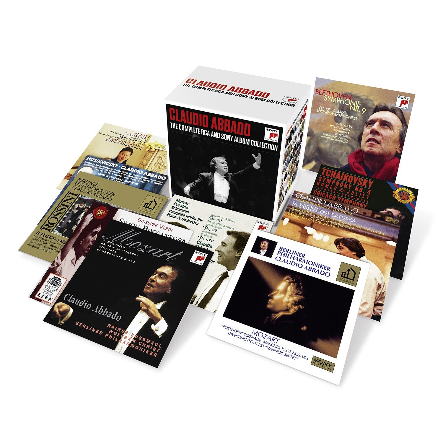 Claudio Abbado - The Complete RCA And Sony Album Collection: Box Set 39CDs (2014)