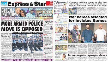 Express and Star Sandwell Edition – May 19, 2018