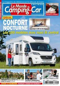Le Monde du Camping-Car - mai 2018