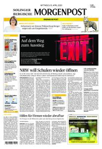 Solinger Morgenpost – 15. April 2020