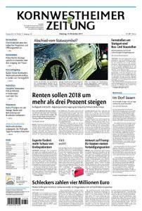 Kornwestheimer Zeitung - 14. November 2017