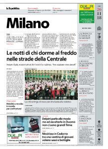 la Repubblica Milano - 26 Novembre 2018