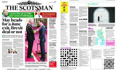 The Scotsman – May 17, 2019