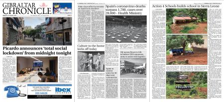 Gibraltar Chronicle – 23 March 2020